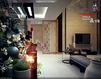 Mr. Oberoi's residence interior