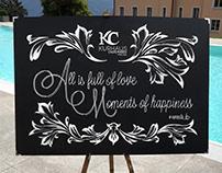 Chalkboard KURHAUS