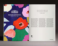 BRANDING, PRINT, Logo |   Maison Artistico