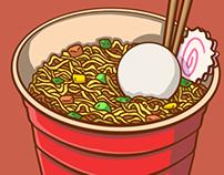 Solo Cup Noodle