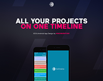OneTimeline - Productivity App For iPhone and Android