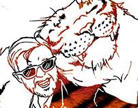 Ricky Gervais, Tiger-Buddy