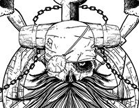 Pirate Skull Tshirt