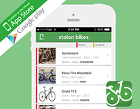Bike Watch | Vélo en Ville  iOS & Android App