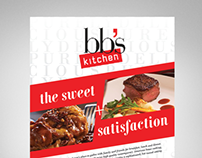 Promotional Ad | BBs Kitchen