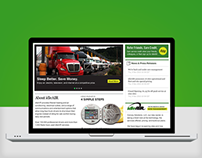 IdleAir Green Technology Desktop + Mobile Website