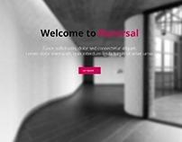 Reversal, WordPress Horizontal One Page Theme