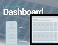 Server Network Dashboard