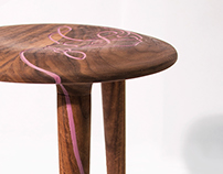 Anthropologie CNC Stool