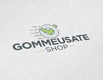 Logo Design Gommeusate - Shop