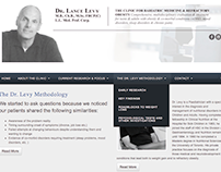 Website Design - Dr. Lance Levy