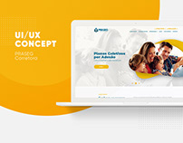 UI/UX Design - PRASEG Corretora