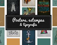 Digital Art - Posters, estampas &tipografia