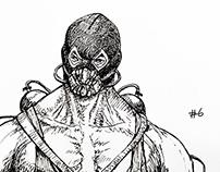 Inktober No.6 - Bane