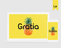 Gratia | Redesign of the cafe site.