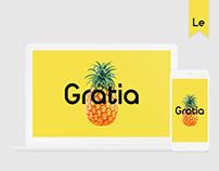 Gratia | Redesign of the cafe site.