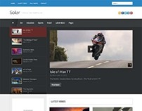 Solar, WordPress Premium Video Theme