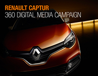 Renault Captur 360 digital campaign