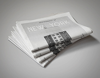 New York - Newspaper