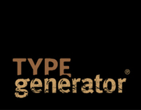 Type Generator Web Site