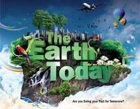 The Earth Today - Calendar Design