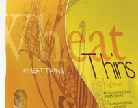 Wheat Thins Package Design