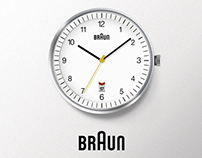 Braun Clock icon