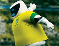 Mascote Copa das Confederações