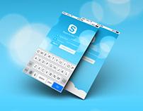 Skype Redesign iOS7