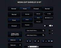FREE Moonlight Dark UI Kit