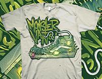 Tshirt - Monster Vans Skater HI