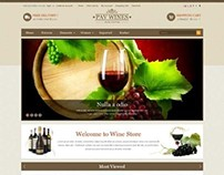 Pav Wines, Opencart Responsive Wine Shop Theme