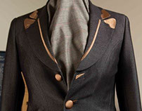 Bespoke Jacket Ladies - Peak Lapel with trimming