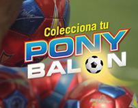 Promo balones Pony Malta / Antonio Valencia