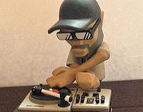 """""""Funky President"""" J.Rocc figure"""