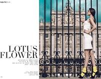 Lotus Flower for Superior Magazine