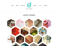 Vulcano, WordPress Creative Studio Theme