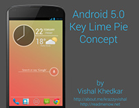 Android 5.0 Key Lime Pie Concept