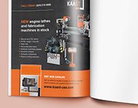 Kaast Trade Publication Advertisement