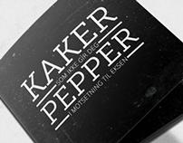 KAKER SOM IKKE GIR DEG PEPPER // Brochure