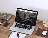 100 Yards Website & Branding