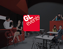 THE RED PATH - A booth for GL events