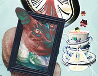 Cat Triptych