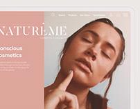 Naturéme - Website