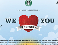 Starbucks' We Love You Wednesdays / Wieden + Kennedy