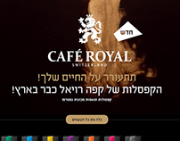 Minisite Cafe Royal