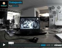 Back Stage - trabajando - Productora -Struka