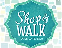 Shop and Walk Logo Redesign for DBA