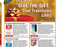 Email Ad Design for Covey Books