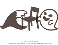 Wave Chair Ghost website design
